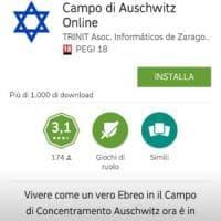 App antisemita simula la vita degli ebrei ad Auschwitz. ''E' un gioco-parodia'',