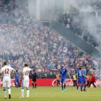Violenza, Uefa apre inchieste su Croazia e Turchia. Ultras croati:
