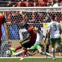 Belgio-Irlanda 3-0: Lukaku e Witsel rilanciano i Diavoli Rossi, Italia vince il girone