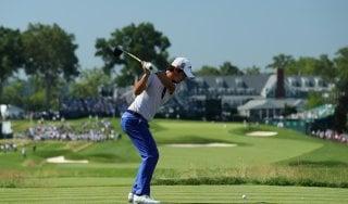 Golf, Us Open: secondo giro sospeso, Manassero lontano
