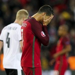 Europei, il Belgio batte l'Irlanda. Pari tra Ungheria e Islanda, Ronaldo tradisce il Portogallo