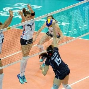 Volley, World grand prix: azzurre ancora ko, l'Olanda ci lascia un set