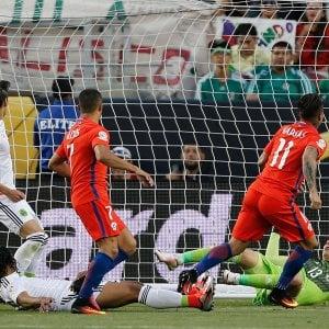 Coppa America, Cile a valanga sul Messico (7-0): Roja in semifinale contro la Colombia