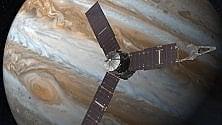 Juno, anche l'Italia il 4 luglio nell'orbita di Giove
