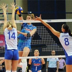 Volley, World grand prix: l'Italia cede alla Russia ai tie break