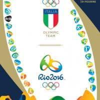 Olimpiadi, la Panini lancia l'album degli azzurri