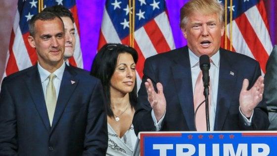 Trump licenzia il responsabile della sua campagna elettorale