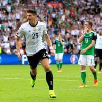 Germania-Irlanda del Nord 1-0, Gomez regala il primo posto nel girone