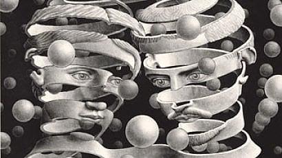 L'arte oltre la scienza -   foto   Escher show a Milano