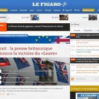 Brexit, Regno Unito fuori dall'Ue: la notizia sui siti internazionali