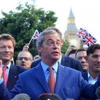 Brexit, Regno Unito lascia Ue: il trionfo di Nigel Farage