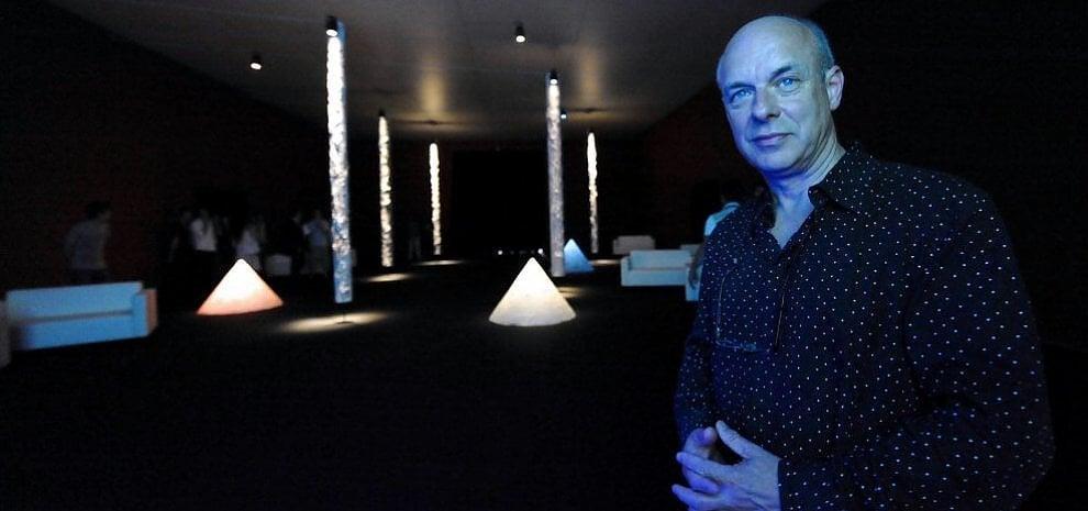 Brian Eno illumina Palazzo Te a Mantova