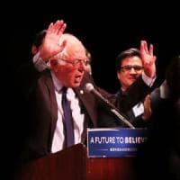 """Usa 2016, Sanders: """"Voterò per Hillary Clinton. No a divisioni"""". La candidata democratica..."""