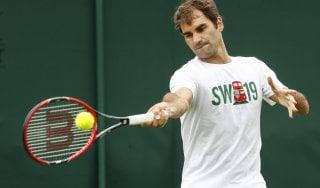 Tennis, Wimbledon: ostacolo Federer nella corsa al Grande Slam di Djokovic