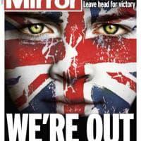 ''See Eu later'', la notizia della Brexit sulle prime pagine dei quotidiani