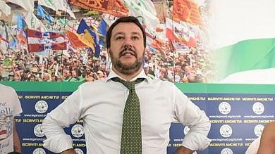 """Salvini: """"Italiani tornino a controllare confini, banche e moneta""""   Videointervista"""