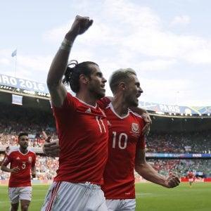 Galles-Irlanda del Nord 1-0: autogol e Bale, Dragoni ai quarti