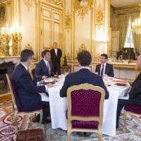 Hollande-Renzi: vertice all'Eliseo per linea comune dopo-Brexit