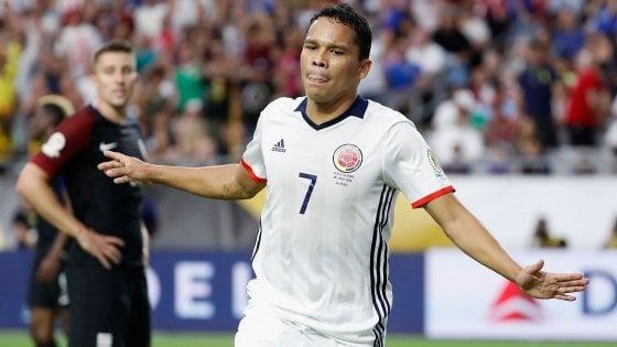 Coppa America, finalina alla Colombia: un gol di Bacca stende gli Stati Uniti