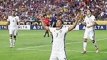 Bacca gol e la Colombia vince finalina sugli Usa  Stanotte Argentina-Cile