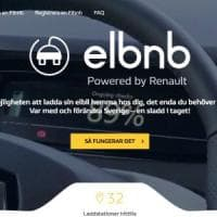 Nasce in Svezia il servizio Elbnb, per ricaricare le auto elettriche