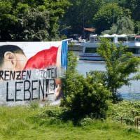 Francoforte, deturpato il mural dedicato al piccolo Alan