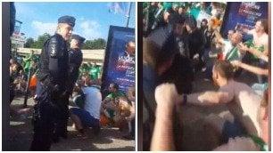 Tifosi irlandesi, un altro show Ballano con la polizia francese