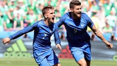 Griezmann  porta la Francia  ai quarti    foto  Irlanda si illude