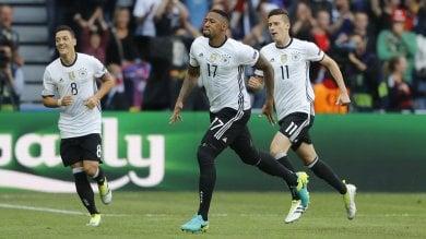 Germania-Slovacchia 3-0: super Draxler, tedeschi ai quarti