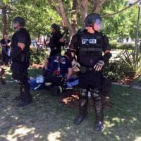 Usa, proteste contro sit-in neonazista: scontri e feriti