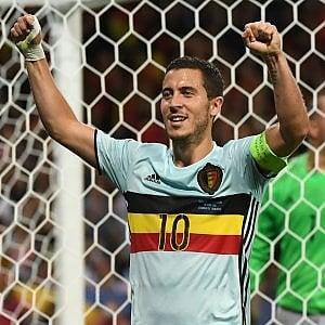 """Belgio, Hazard euforico: """"Grande gara, potevamo segnare anche di più"""""""