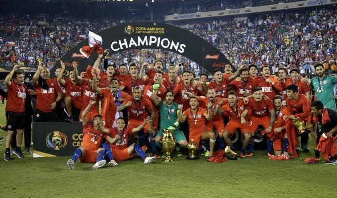 Argentina ko a rigori, coppa al Cile   foto
