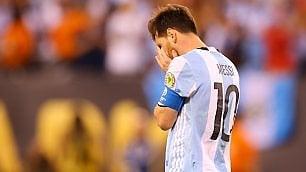 Messi e il tabù Argentina  senza lieto fine   video     foto     Campioni  non mollano