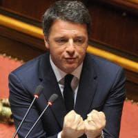 """Brexit, Renzi alle Camere: """"Il voto inglese pesa come un macigno nella storia Ue"""""""