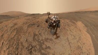 Curiosity si avvicinerà all'acqua di Marte Ma dovrà osservarla da lontano   Foto