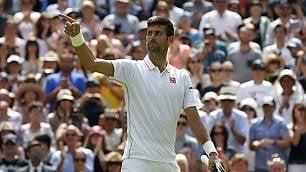 Djokovic e il Grande Slam comincia la corsa   foto   Battuto Ward /   Speciale     Italiani , Seppi-Errani ok