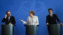 3 LEADER E 2 MESI PER UNA NUOVA EUROPA