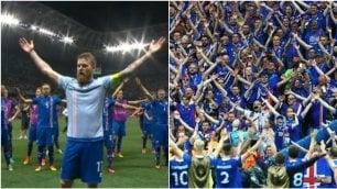 I 35 secondi più belli di Euro 2016 Haka di calciatori e tifosi islandesi
