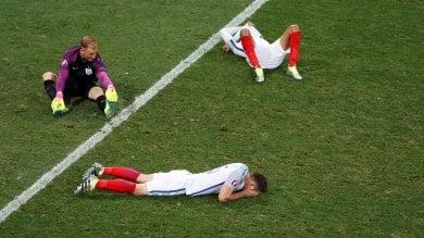 """Inghilterra out, la stampa britannica non ci sta: """"Umiliata squadra di cretini"""""""