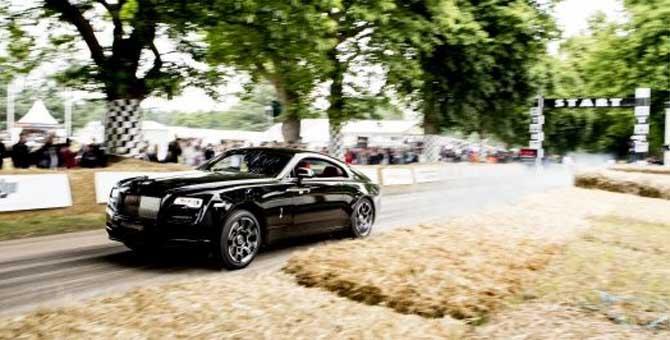 Rolls-Royce mattatrice al Goodwood Festival of Speed