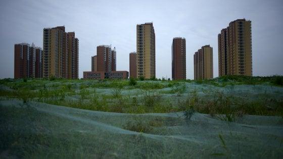 Pechino, nuova emergenza: sprofonda di 11 centimetri all'anno