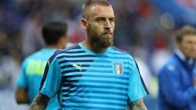 """Italia-Germania, De Rossi verso il forfait     Florenzi:  """"Sarà come scalare l'Everest..."""""""