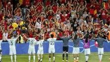 Bruciata bandiera belga indagine su tifosi italiani