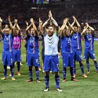 Islanda da favola, tutti davanti alla tv: share del 99% per partita con