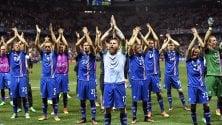 Favola Islanda, share del 99% in tv per la partita con l'Inghilterra   video