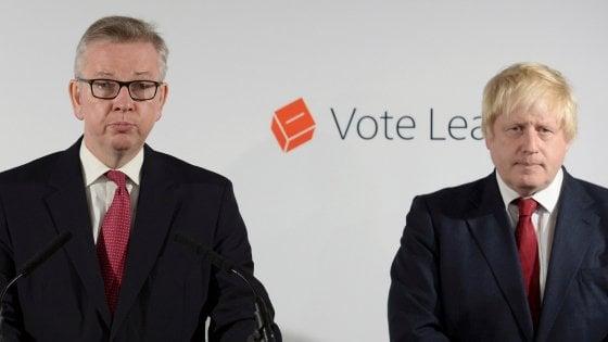 Gb, Johnson a sorpresa rinuncia alla corsa per la leadership. Sfida Gove-May
