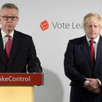 Gb, Gove in corsa per la leadership Tory contro Johnson. E la May sorride
