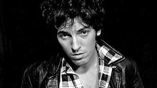 Bruce Springsteen da giovane Il Boss operaio di Frank Stefanko