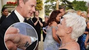 ''Carpe Diem'', il messaggio di Judi a 81 anni primo tattoo per Dench