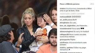 Italia vince, figlio Piqué disperato Mamma Shakira lo consola